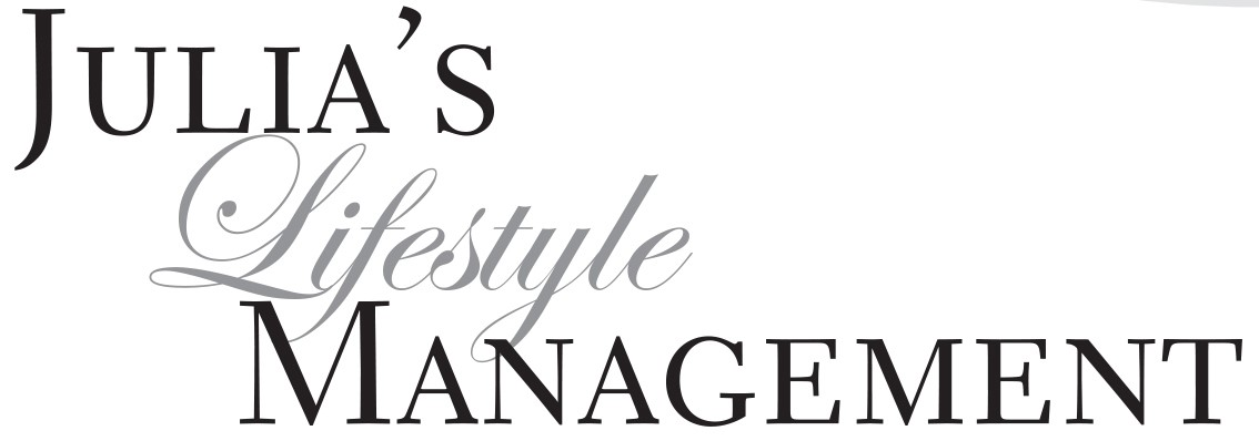 Julia's Lifestyle Management | Personal Concierge | Virtual Assistant | Home Organizers | Staging